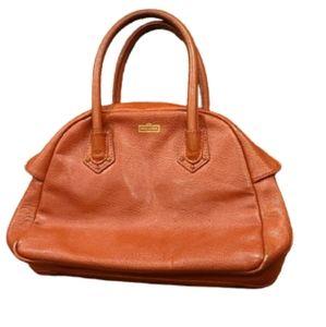 Henri Bendel burnt orange dr style purse